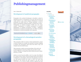 publishingmanagement.blogspot.com screenshot