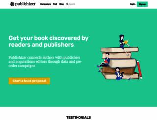 publishizer.com screenshot