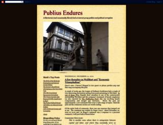 publiusendures.blogspot.com screenshot