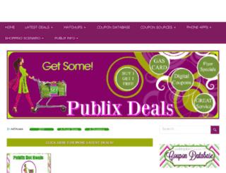publixdeals.com screenshot