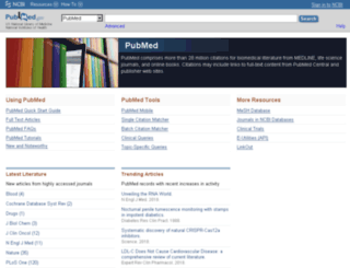 pubmed.com screenshot