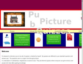 pubpicturequizzes.com screenshot