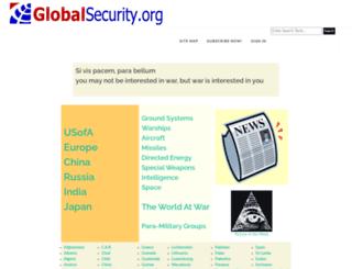 pubs.globalsecurity.org screenshot