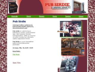 pubsirdie.com screenshot