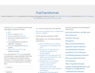 pubtransformer.com screenshot