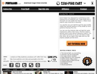 pubtricks.com screenshot