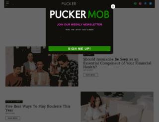 puckermob.com screenshot