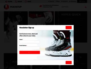 puckstop.com screenshot