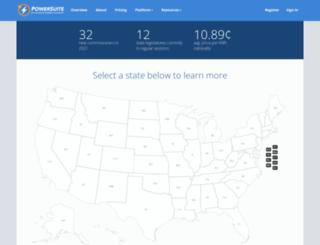 pucportal.aee.net screenshot