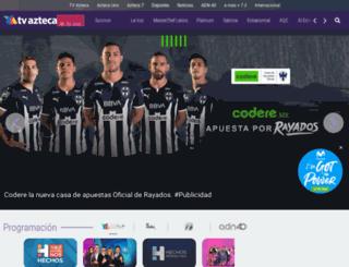 puebla.azteca.com screenshot