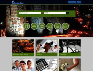 puebla.guialis.com.mx screenshot