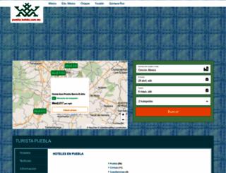 puebla.turista.com.mx screenshot