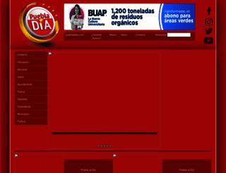 pueblaaldia.com screenshot