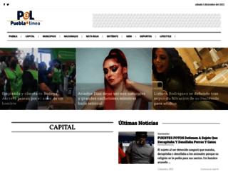 pueblaenlinea.com screenshot