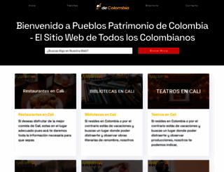 pueblospatrimoniodecolombia.travel screenshot