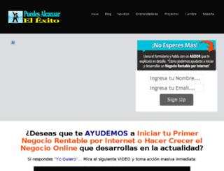 puedesalcanzarelexito.com screenshot
