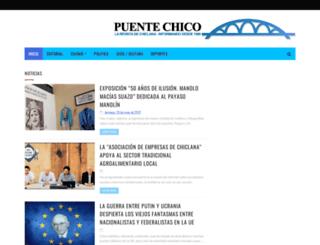 puentechico.com screenshot