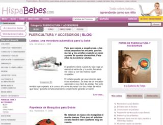 puericultura-y-accesorios.hispabebes.com screenshot