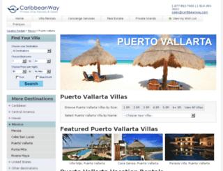 puerto-vallarta.caribbeanway.com screenshot