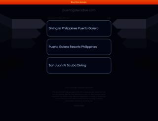 puertogaleradive.com screenshot