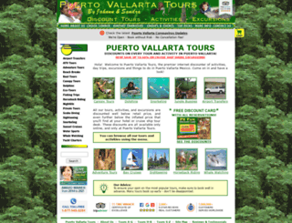 puertovallartatours.net screenshot