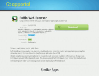 puffin-web-browser.apportal.co screenshot