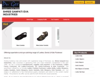 pugeefootwear.com screenshot