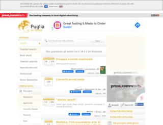 pugliainfesta.it screenshot