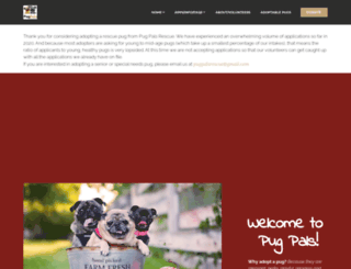 pugpals.org screenshot