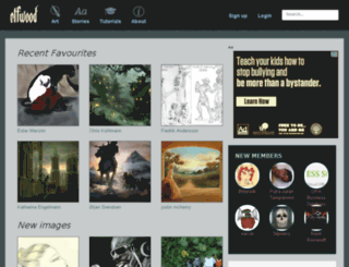 puimun.elfwood.com screenshot