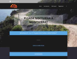 pujadanocturnamontserrat.webnode.es screenshot