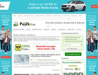 pujcko.cz screenshot
