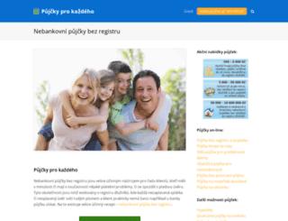 pujcky-pro-kazdeho.cz screenshot