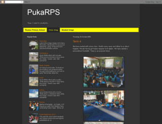 pukarps.blogspot.co.nz screenshot