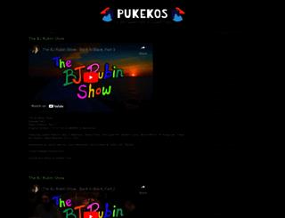 pukekos.org screenshot
