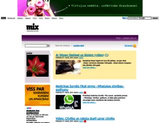pukje.mix.lv screenshot