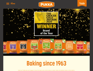 pukkapies.co.uk screenshot