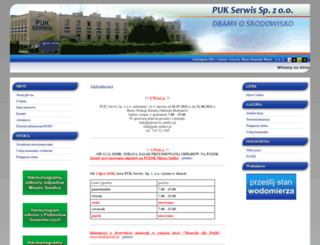 pukserwis.siedlce.pl screenshot