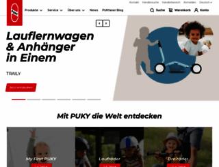 puky.de screenshot