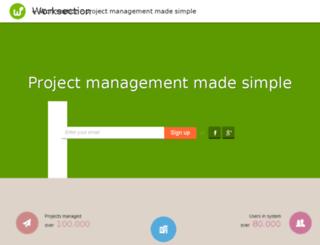 puladesign.worksection.com screenshot