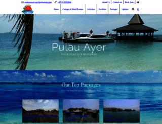 pulauayer.com screenshot