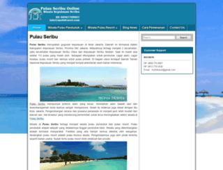 pulauseribuonline.com screenshot