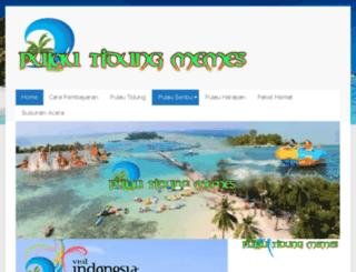pulautidungmemes.com screenshot