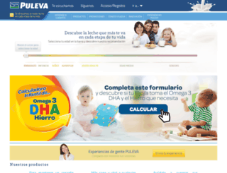 pulevasalud.com screenshot