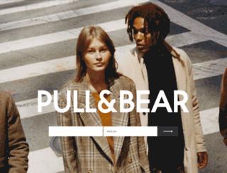 pullbear.com screenshot