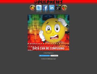 pulpnews.com screenshot