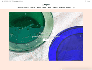 pulpoproducts.com screenshot