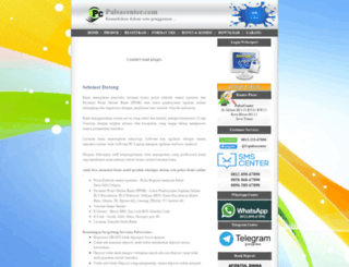 pulsacenter.com screenshot