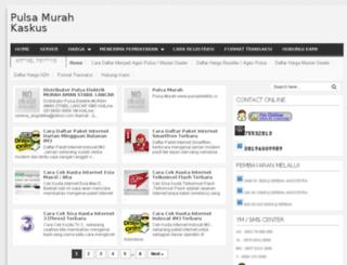 pulsaelektrikmurah.info screenshot