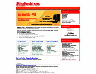 pulsahandal.com screenshot